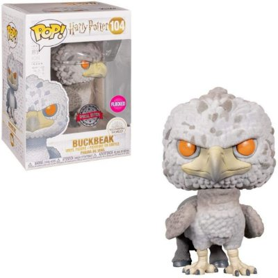 Funko Pop Harry Potter 104 Buckbeak Flocked Special Edition