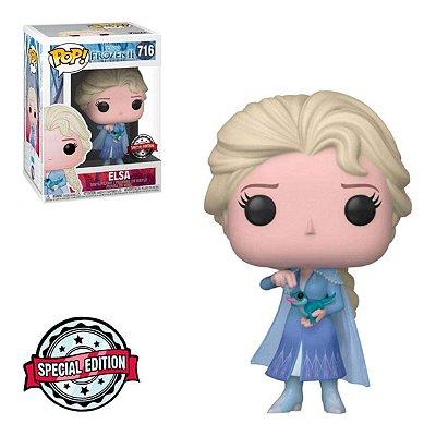 Funko Pop Frozen 2 716 Elsa w/ Salamander Special Edition