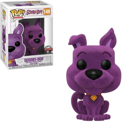 Funko Pop Scooby-Doo 149 Scooby Doo Flocked Special Edition