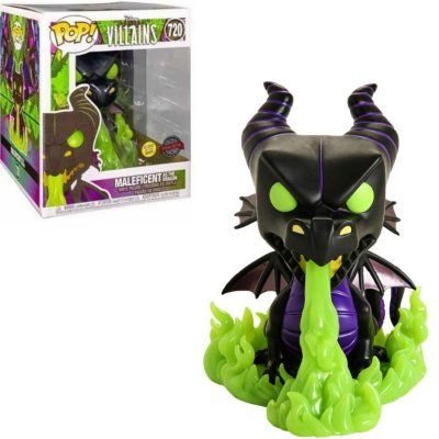 Funko Pop Disney Villains 720 Maleficent as the Dragon GITD Special