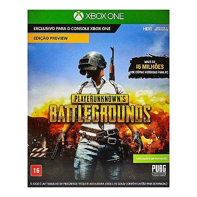 Playerunknown's Battlegrounds PUBG - Xbox One
