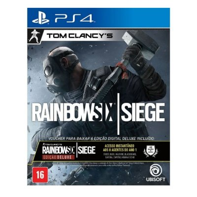 Tom Clancy's Rainbow Six Siege Deluxe Edition - Ps4