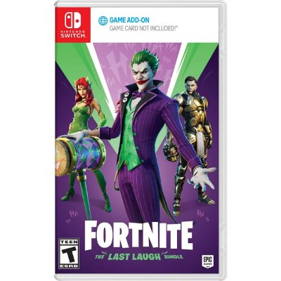 Fortnite The Last Laugh Bundle - Switch
