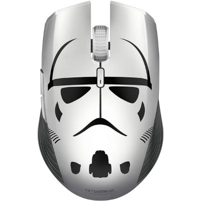 Mouse Razer Atheris S/fio USB e Bluetooth Mouse Stormtrooper Limited Edition