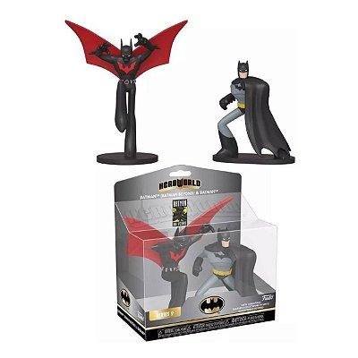 Funko Dc Series Hero World Batman Beyond & Batman - 2 Pack