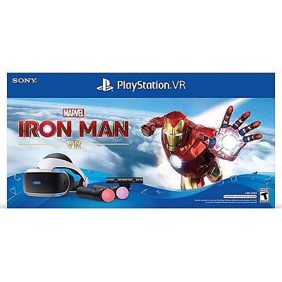 Playstation Vr Marvel Iron Man Zvr2 Bundle - PS4