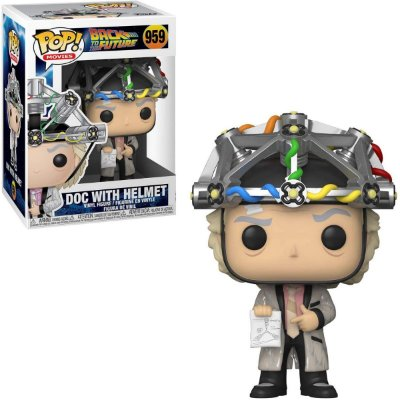 Funko Pop Back To The Future 959 Doc With Helmet