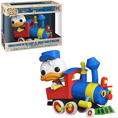 Funko Pop Disney 65th 01 Donald Duck On The Casey Jr. Circus Train Attraction