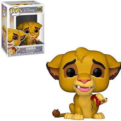 Funko Pop Disney The Lion King 496 Simba Rei Leão
