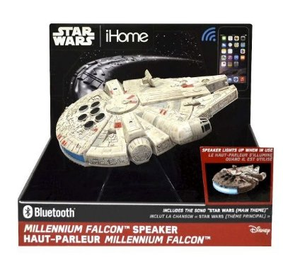 Star Wars Millennium Falcon Portable Bluetooth Speaker