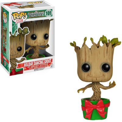 Funko Pop Guardians of the Galaxy 101 Holiday Dancing Groot