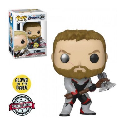 Funko Pop Avengers Endgame 452 Thor Glow In The Dark Special Edition