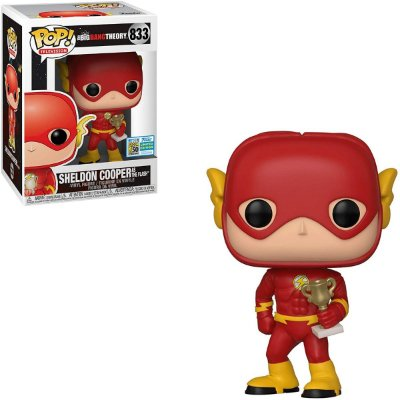 Funko Pop The Big Bang Theory 833 Sheldon Cooper as Flash