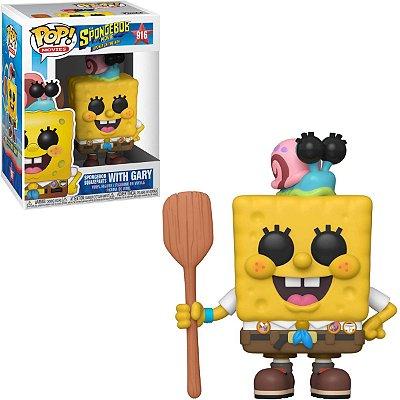 Funko Pop Spongebob 916 Bob Esponja Com Gary