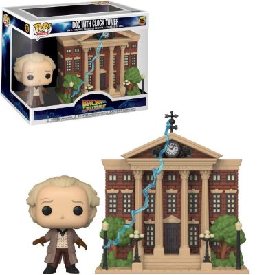 Funko Pop Back to The Future 15 Doc With Clock Tower