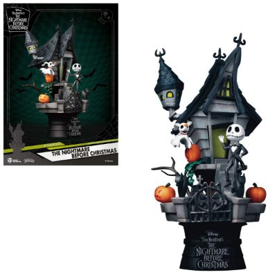 Estátua The Nightmare Before Christimas Jack Disney D-stage - Beast Kingdom