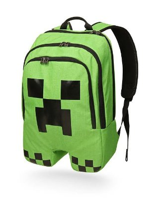 Mochila Minecraft Creeper Oficial Thinkgeek