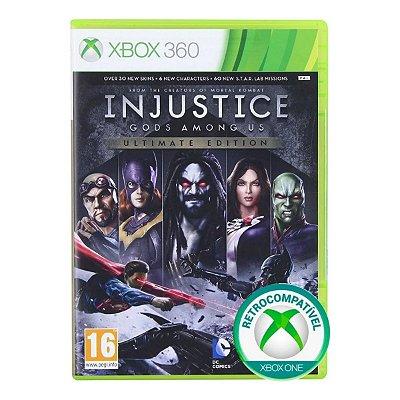 Injustice Gods Amongs Us Ultimate Edition - Xbox 360 / Xbox One
