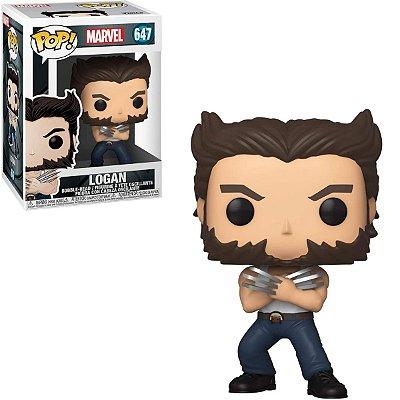 Funko Pop Marvel 647 Logan Wolverine
