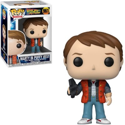 Funko Pop Back To The Future 961 Marty In Puffy Vest