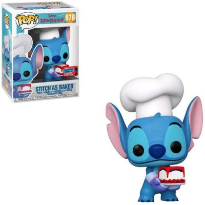 Funko Pop Disney Lilo & Stitch 978 Stitch as Baker Nycc 2020
