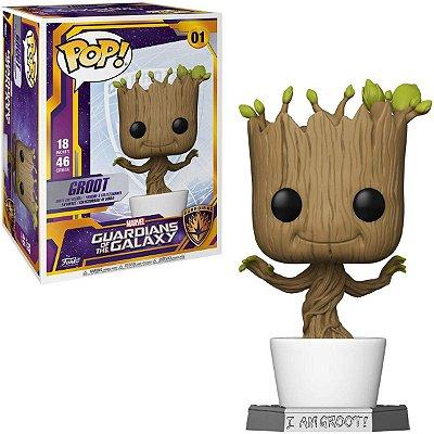Funko Pop Marvel Guardians of the Galaxy 01 Dancing Groot 46cm