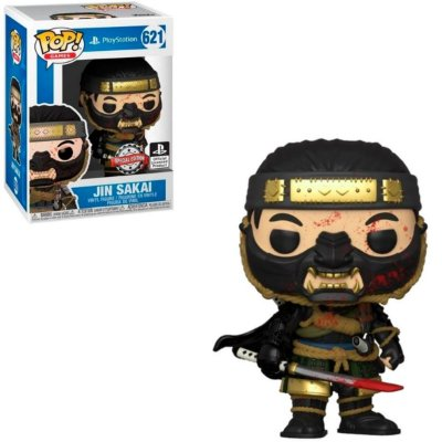 Funko Pop Ghost of Tsushima 621 Jin Sakai Special Edition