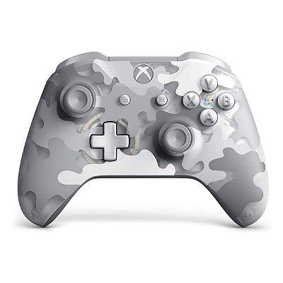 Controle Xbox One S/fio Arctic Camo Special Bluetooth P2