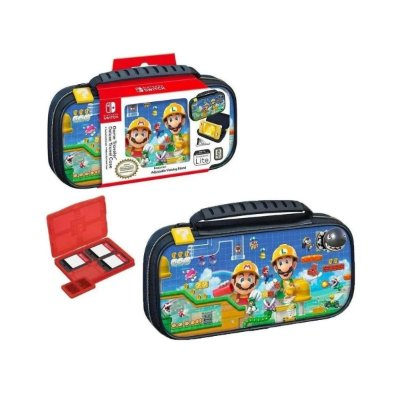 Deluxe Game Traveler Case Super Mario Maker Lite - Switch Lite