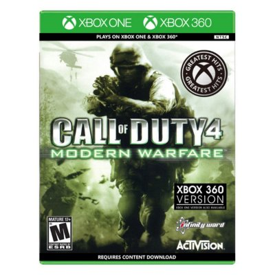 Call of Duty 4 Modern Warfare - Xbox One / Xbox 360