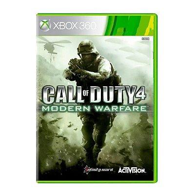 Call Of Duty 4 Modern Warfare - Xbox 360