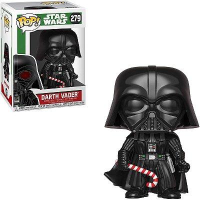 Funko Pop Star Wars 279 Darth Vader Holiday Candy Cane