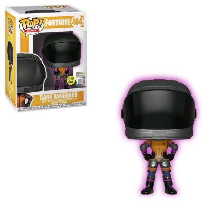 Funko Pop Fortnite 464 Dark Vanguard Glows in the Dark