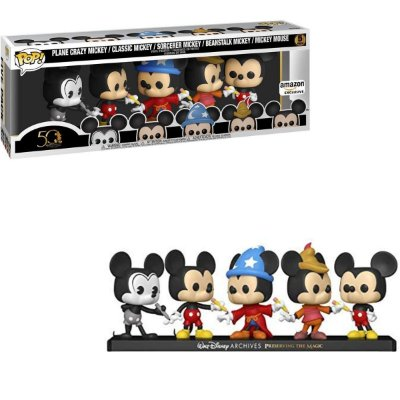 Funko Pop Disney Archives Mickey Mouse 5 Pack Exclusive