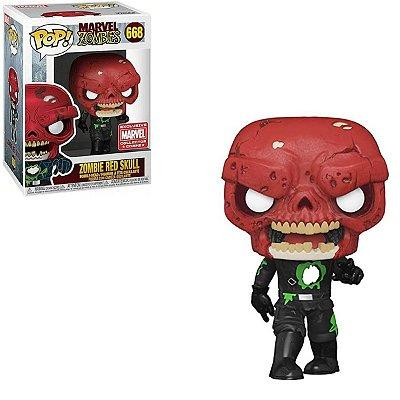 Funko Pop Marvel Zombies 668 Zombie Red Skull