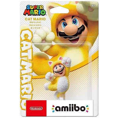 Amiibo Cat Mario Super Mario Series - Switch 3Ds Wii U