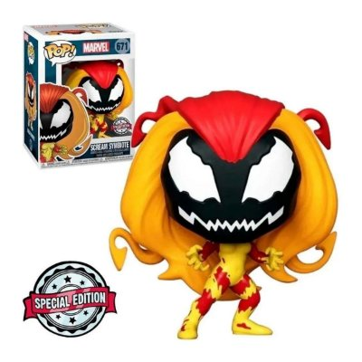 Funko Pop Marvel 671 Scream Symbiote Special Edition