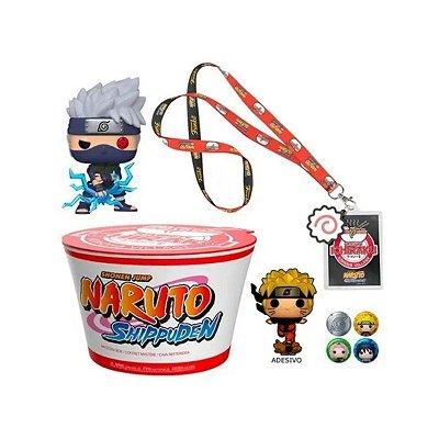 Funko Pop Naruto Mystery Box 822 Kakashi - 4 Peças