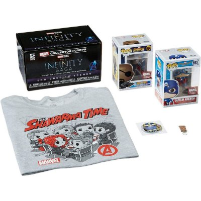 Funko Pop Marvel Collector Corps The Infinity Saga - M