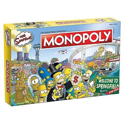 Monopoly The Simpsons Banco Imobiliário