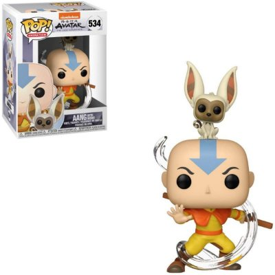 Funko Pop Avatar 534 Aang with Momo