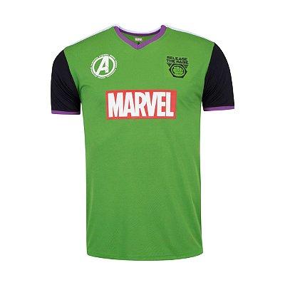 Camiseta Marvel Vingadores Fardamento Hulk - Masculina