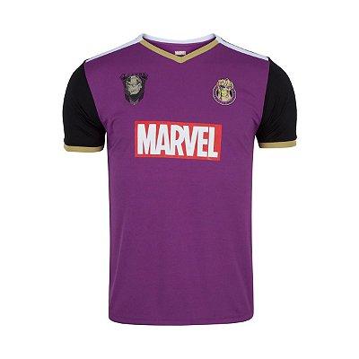 Camiseta Marvel Vingadores Fardamento Thanos - Masculina