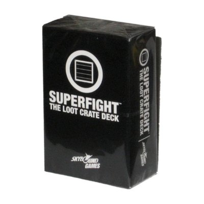 Superfight Deck Exclusive 100 Card Skybound Game Loot Crate
