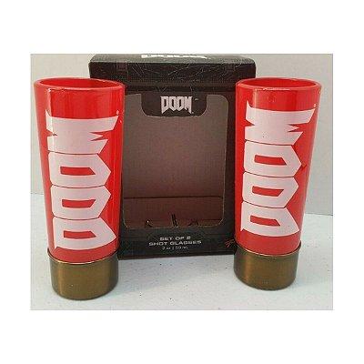 Doom Shot Glasses 2 Copos Loot Crate Exclusive
