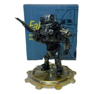 Fallout Brotherhood of Steel Power Armor Figure Loot Crate Exclusive