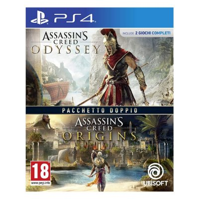 Assassins Creed Origins + Assassins Creed Odyssey Double Pack - PS4