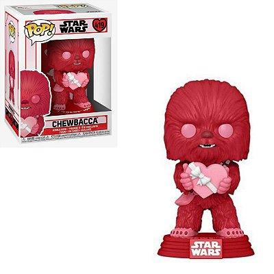 Funko Pop Star Wars 419 Chewbacca Valentines Day