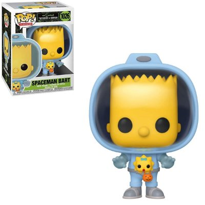 Funko Pop The Simpsons 1026 Spaceman Bart w/ Maggie