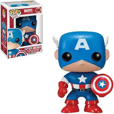 Funko Pop Marvel 06 Captain America Classic